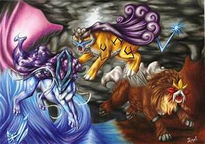Suicune, Raikou, And Entei - Pokemon Wallpapers and Images ...