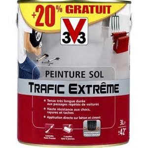 Peinture Escalier V33 Avis by Peinture Pour Sols Garages Et Escaliers Quot Trafic Extr 234 Me