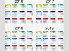 Calendar, 2017, 2018, 2019 PNG and Vector for Free Download