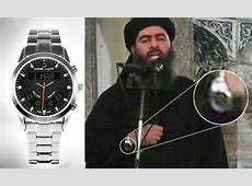 Is alBaghdadi's silver '£3,500 James Bond watch' actually