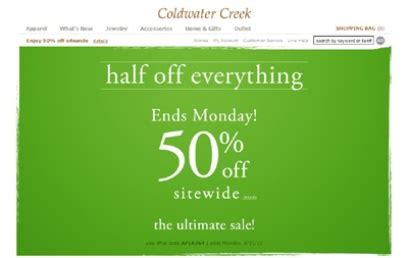 19659 Coldwater Creek Free Shipping Coupon Code by News By Using Coldwater Creek