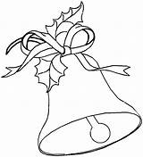 Bells Bell Coloring Jingle Christmas Pages Printable Drawing Drawings Printables Templates Taco Getcolorings Para Getdrawings Colorear Popular Coloringhome Dibujos Azcoloring sketch template