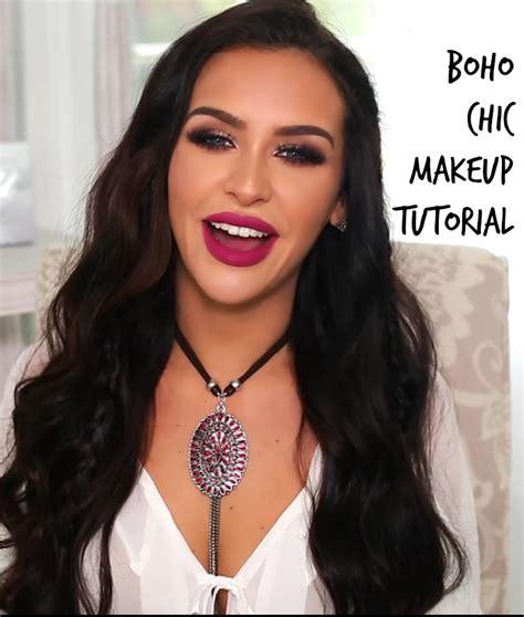 boho chic makeup tutorial