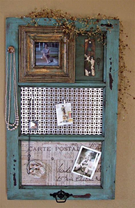 Diy Vintage Window Frame Organizer