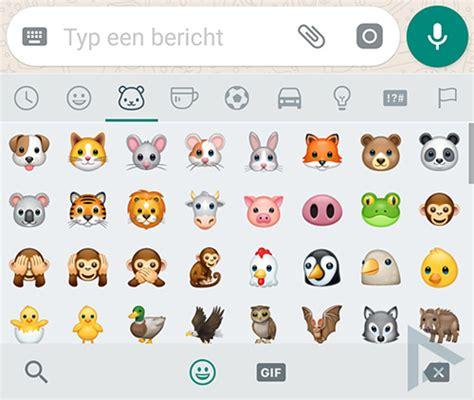 whatsapp rolt nieuwe emoji vormgeving uit naar iedereen