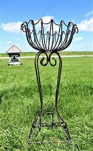 Wrought, Iron, Medium, Pablo, Plant, Stand, Decorative, Pot, Holder