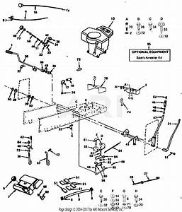 Poulan Pp1844b Tractor Parts Diagram For Power And
