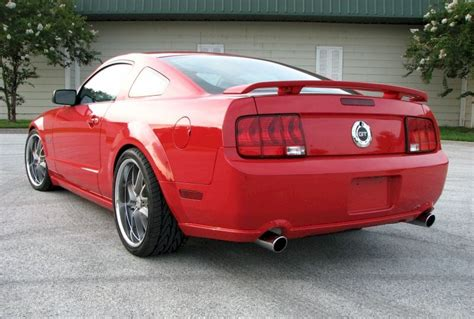 Torch Red 2005 Ford Mustang Gt Coupe