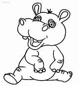 Hippo Coloring Pages Baby Hippopotamus Cartoon Cute Drawing Printable Fiona Colouring Outline Hippogriff Typhlosion Animals Getcolorings Cool2bkids Boyama Animal Yazdırılabilir sketch template