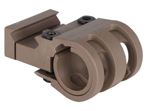 offset light mount vtac offset picatinny rail flashlight mount polymer