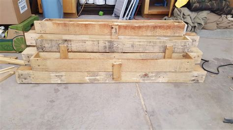 steps pallet planter  pallets