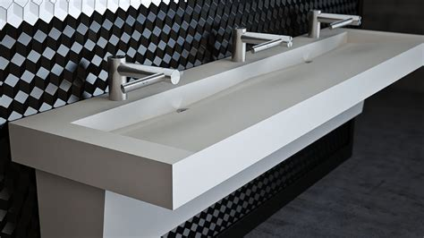 commercial trough bathroom sinks custom  standard