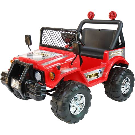 Kidtrax Avigo Traxx 12 Volt Electric Ride On, Red