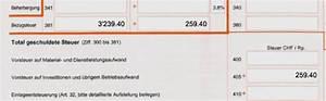Mwst Abrechnung : was ist die bezugsteuer run my accounts ag ~ Themetempest.com Abrechnung