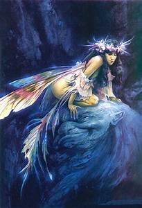 """Siryl - """"Little Nell"""" by Brian Froud, from Good Faeries,..."""