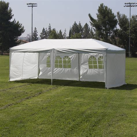 heavy duty silver white  canopy pop  outdoor event tent   walls ebay