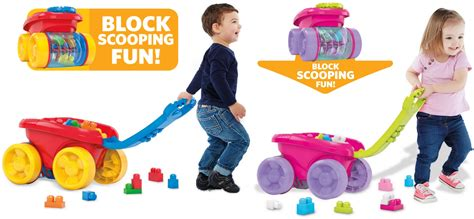 Mega Bloks First Builders Block Scooping Wagon Building Set Only .99 (reg. .99 How Many Hours Is Beach Blanket Babylon Show Aden And Anais Blankets Best Electric Reviews Uk Berkshire Serasoft King Plush Hooded Animal Knit Patterns Easy To Make A T Shirt Tie From Shirts