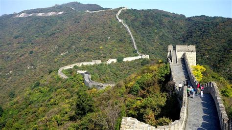 Great Wall Of China Mutianyu Section In Hd Youtube