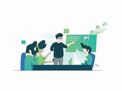 Workshop Illustration Graphic Flat Digital