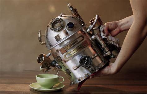 steampunk tea pot cooking gizmos