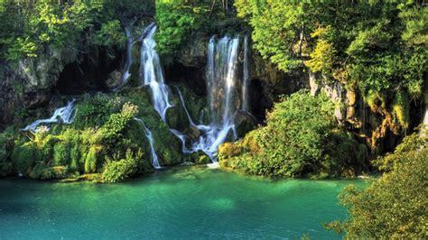 Free Lock Screen Wallpaper Thailand Wallpaper Waterfall River Jungle Nature Desktop Wallpapers 976 Wallpapers13 Com