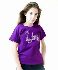 Nasa Lunar Rover T-shirt - Spacekids