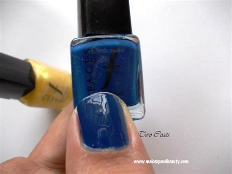 Ultramarine Blue And Pearly Yellow
