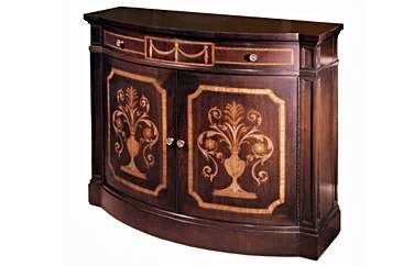 adam commode inlaid karges