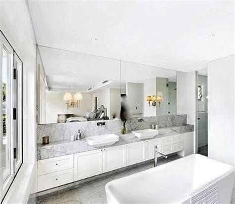 floating double bathroom vanity contemporary bathroom