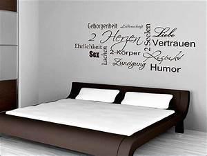 Schlafzimmer Deko Wand : deko schlafzimmer wand zuhause dekor ideen ~ Buech-reservation.com Haus und Dekorationen