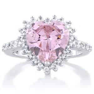 pink engagement rings pink engagement rings diamondstud