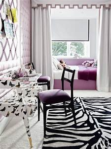 Built In Daybed Contemporary Girl39s Room