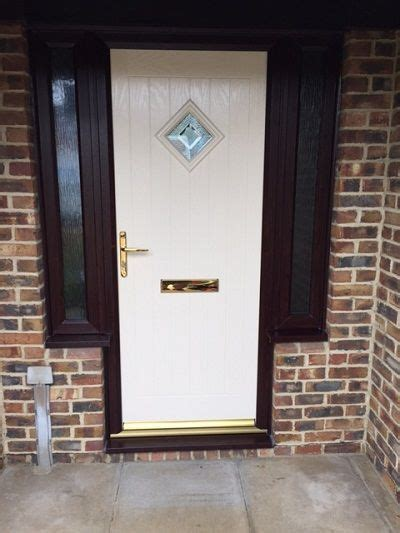 New Front Door And Frame by New Windows Warminster Composite Door With