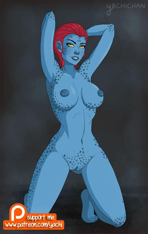 Rule 34 Armpits Arms Behind Head Barefoot Blue Skin