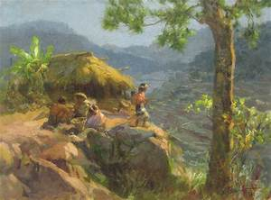 Fernando Amorsolo : Baguio | Pinoy Artists' Works ...