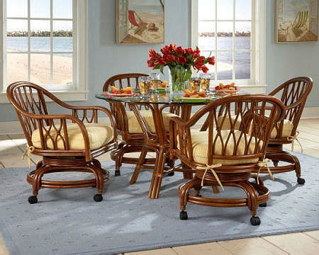 rattan kitchen table and chairs rattan and wicker dining sets wicker chairs rattan