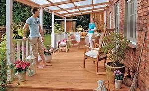 Bau Einer Holzterrasse : terrassen berdachung selber bauen ~ Sanjose-hotels-ca.com Haus und Dekorationen