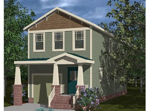 Craftsman-style Narrow Lot Home