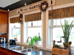 window treatment ideas for kitchens window treatment ideas hgtv