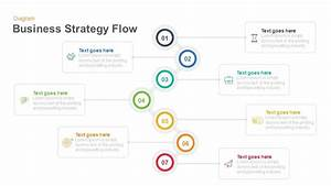 Business Strategy Flow Diagram Keynote And Powerpoint