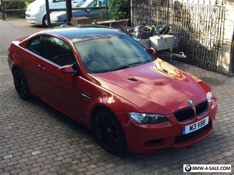 E92 For Sale by 2007 Coupe M3 For Sale In United Kingdom