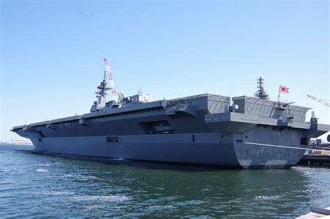 msdf commissions its helicopter carrier yet the