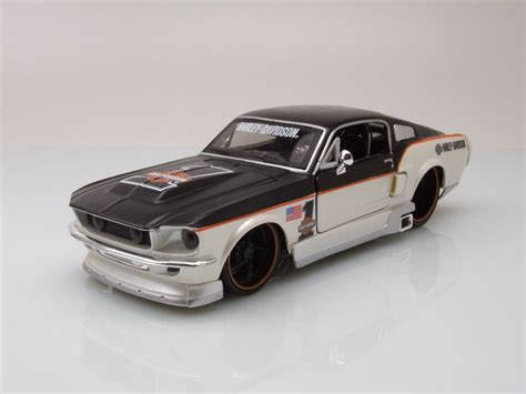 modellauto ford mustang gt 1967 harley davidson 1 wei 223
