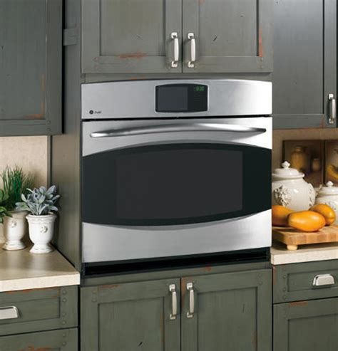 general electric ptspss  single electric wall oven   cu ft precise air convection
