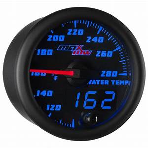 52mm Black  U0026 Blue Maxtow Double Vision Water Temperature