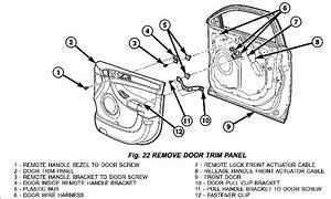 2004 Chrysler Pacifica  Awd  Door Locks  Unlock  Must