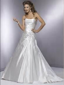 a line wedding dresses silver strapless a line wedding gown wedwebtalks wedwebtalks