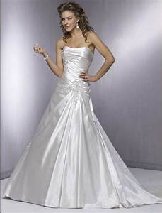 silver strapless a line wedding gown wedwebtalks wedwebtalks With silver dresses for a wedding