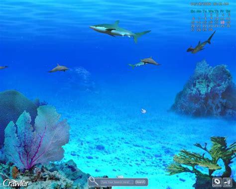 sea aquarium 2 for 1 crawler 3d marine aquarium screensaver