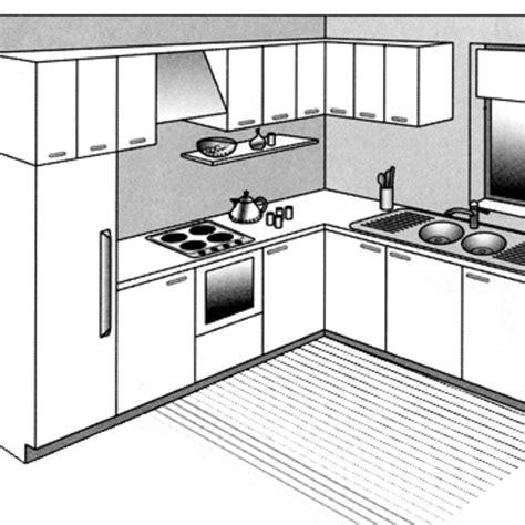 plan de cuisine ouverte 12 plans pour une cuisine ouverte côté maison